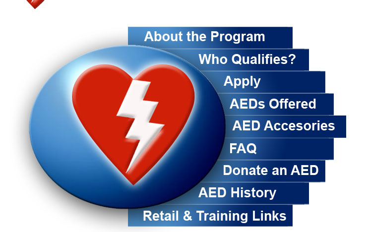 An AED in every Home… An AED in every Business… An AED in every Public Place… Our Goal: An AED wherever tragedy may strike. AEDGrant.com ~ Providing Funding to Empower America in Deploying these Critical Lifesaving Devices...