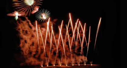 Fireworks are beautiful, but can be dangerous when proper precautions are not observed.