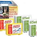 image of first aid fundraiser kits