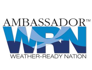 We are Ambassadors of NOAA & The Weather Ready Nation Program!