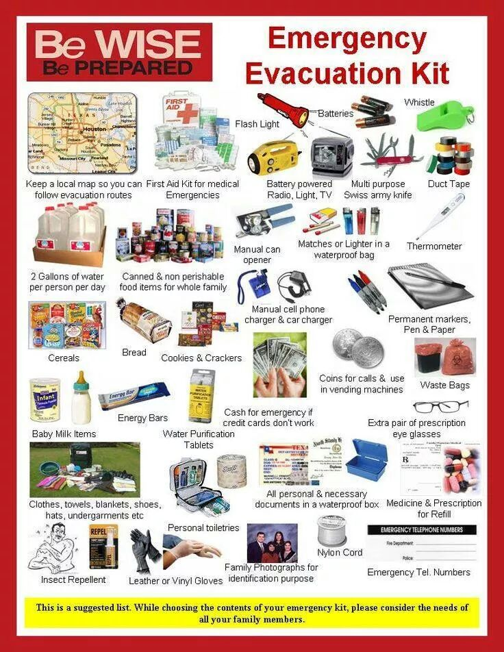 "Get everything you need to ""Bug Out"" Click the image for your supplies!"