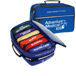 image of a marine first aid kit