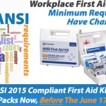ANSI Z308.1-2015: American National Standard Minimum Requirements for Workplace First Aid Kits and Supplies