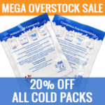 """MEGA"" Overstock Cold Pack Sale"