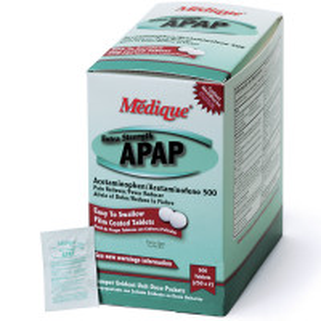 Extra Strength APAP, 500/box, 17513