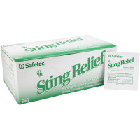 Sting Relief Wipes, 150 per box, 52014