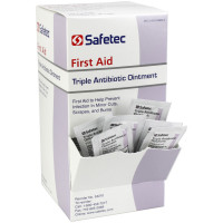 Triple Antibiotic .9gm. Pouch, 144 per box, 53210