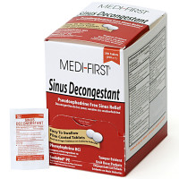 Sinus Decongestant, 250/box, 80948