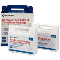 50 Person Complete ANSI/OSHA Compliance Package (First Aid and BBP) - 90765