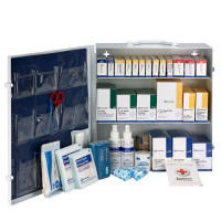 3 Shelf First Aid ANSI B+ Metal Cabinet, without Meds - 90790
