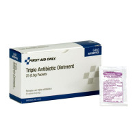 Triple Antibiotic Ointment, .5 gram - 25 Per Box - G460