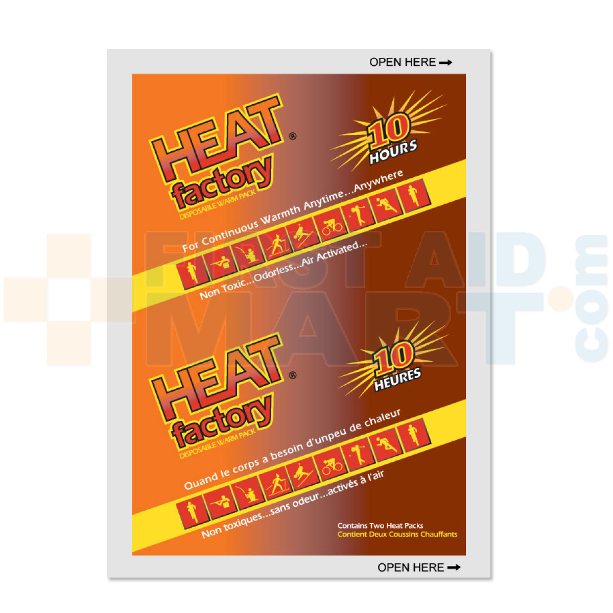 heat factory mini size warmer 1 pair hf1953 firstaidmart com