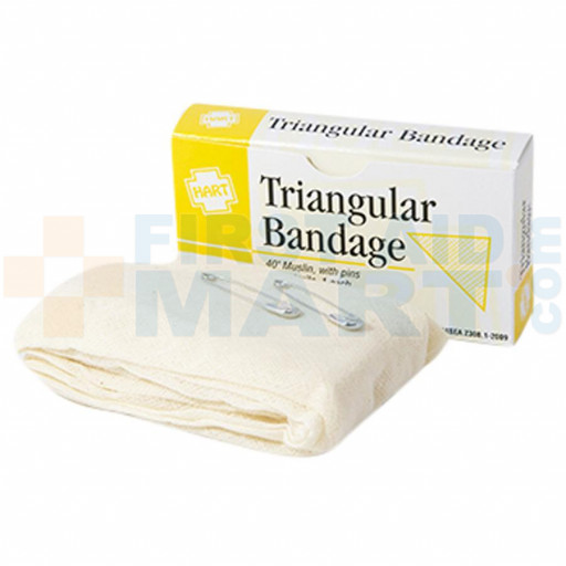 "Triangular Bandage 40"" x 40"" x 56"", Boxed, 0261"