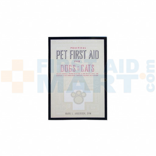 Practical Pet First Aid for Dogs & Cats - Book - 10147
