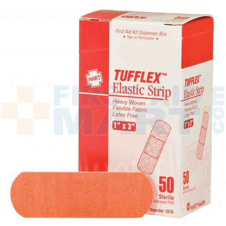 "1"" x 3"" Woven Adhesive Bandages, 50/BX, 1076"