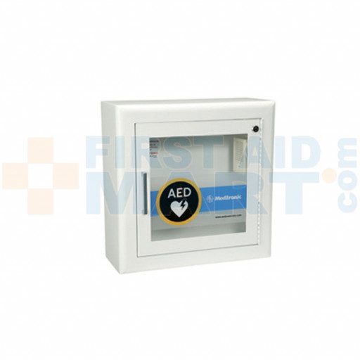 Physio-Control Automated External Defibrillator Wall Cabinet with Alarm - 11220-000079