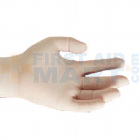 (WSL)Lightly Powdered Latex Exam Gloves - Small - 100 Per Box - 1200007