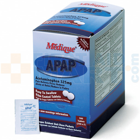 APAP, 500/box, 14513