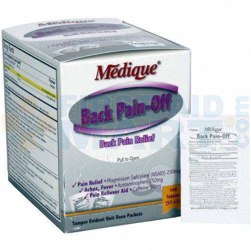 Back Pain-Off - 100 Per Box - 07333