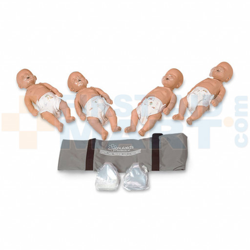 Sani-Baby CPR Manikins - 4 Pack - 2124