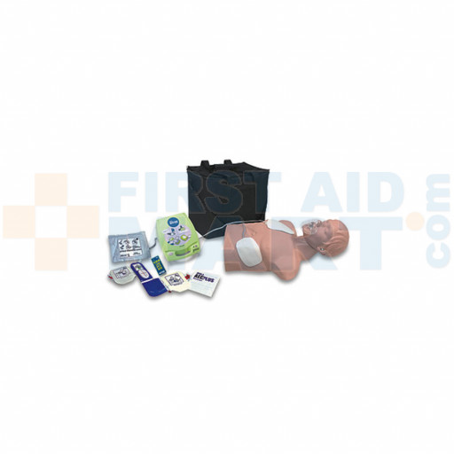 Automated External Defibrillator Trainer Package w/ Economy Adult Sani-Manikin - 2150