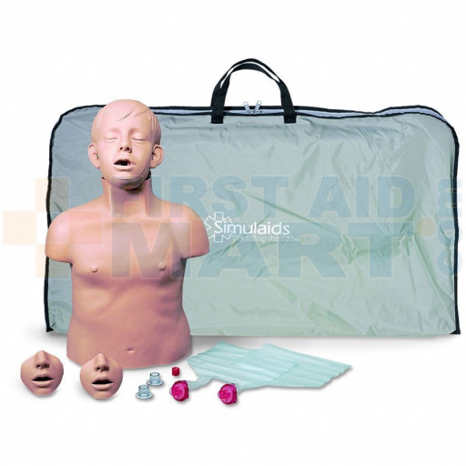Brad Jr. CPR Training Manikin w/ Carry Bag - 2271