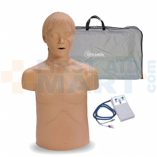 Adam Adult CPR Manikin w/ Electronics and Carry Bag - 2300