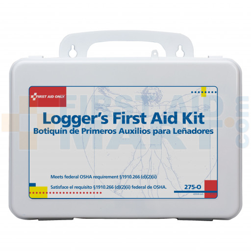 16 Unit Logger First Aid Kit - Plastic - 275-O