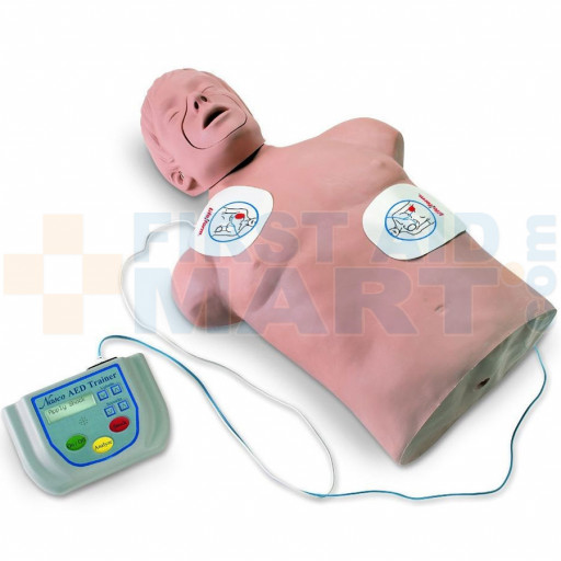 Life/form Automated External Defibrillator Trainer Package with CPR Brad - 2831