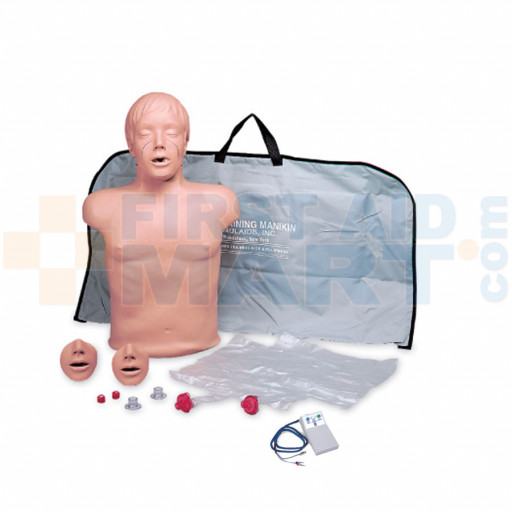 Brad CPR Training Manikin w/ Electronics and Bag - 2850