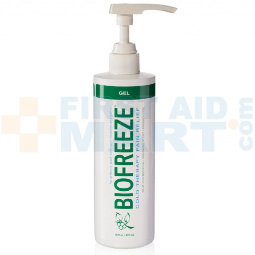 Biofreeze Pain Relieving Gel, 16oz Pump Spray, 31116