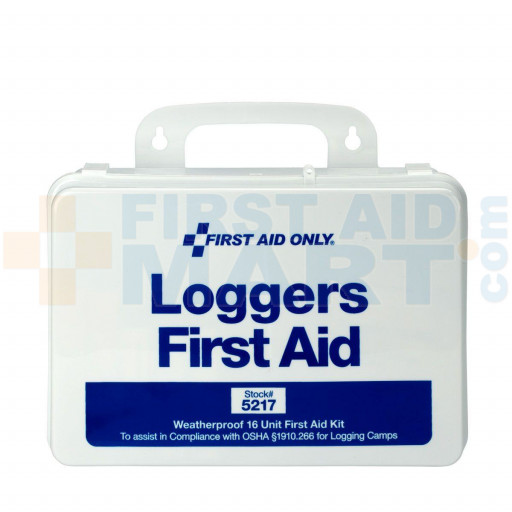 25 Person Logger First Aid Kit - Plastic - 275-O