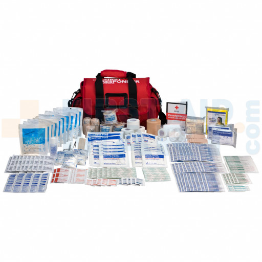 Coaches First Responder Kit, 390 Piece, soft bag Bag - 720019