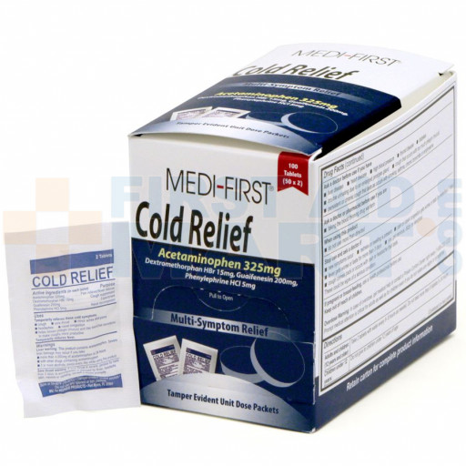 Cold Relief, 100/box, 82233