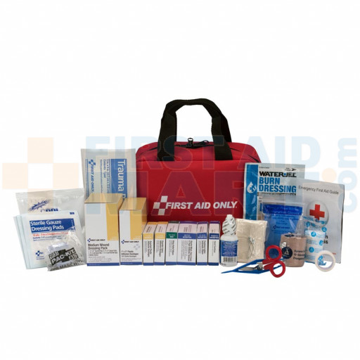 50 Person First Aid Kit, ANSI A+, Soft Case - 90599