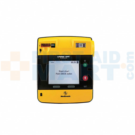 LIFEPAK 1000 defibrillator – Graphical Display, case, battery, electrodes - 99425-000023