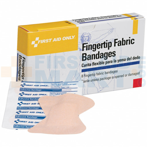 Fingertip Bandage - Fabric - 8 Per Box - A187