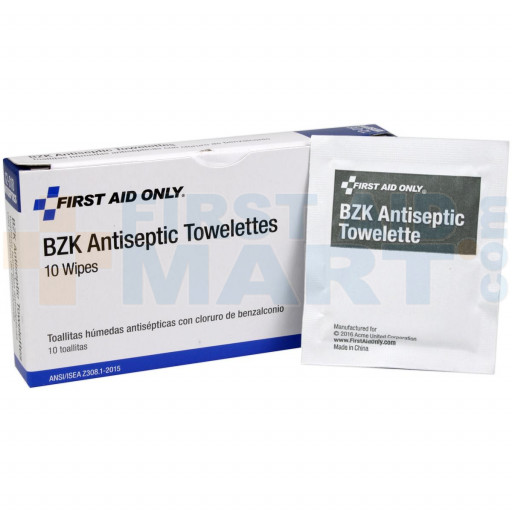Antiseptic Cleansing Wipe (Sting Free) - 10 Per Box - AN337