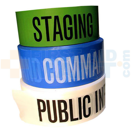 Public Information - 3 inch x 1000' - White - C/ICS2