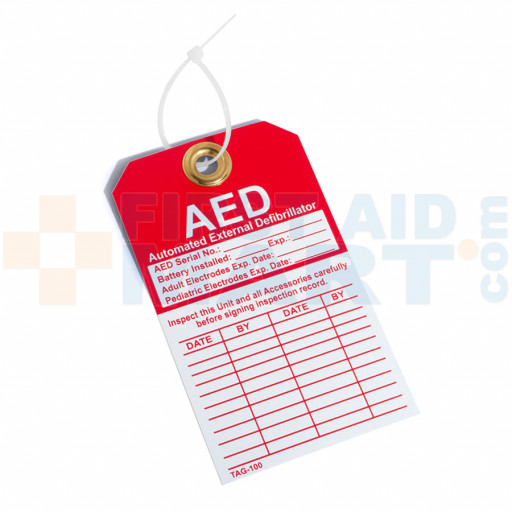 Vehicle Automated External Defibrillator Decal - DAC-802