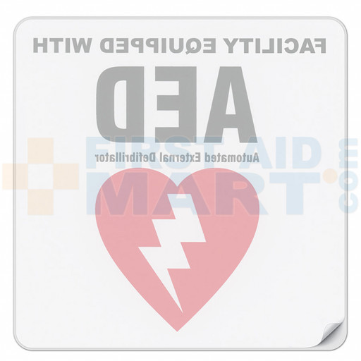 Facility Automated External Defibrillator Decal - DAC-803