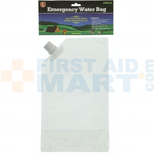 emergency-water-bag-500ml, EWB12L
