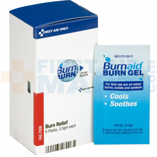 Burnaid Packets, 6 each - SmartTab EzRefill - FAE-7006
