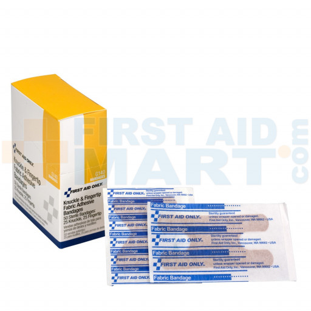 Knuckle & Fingertip Bandage, Fabric - 50 Per Box - G140