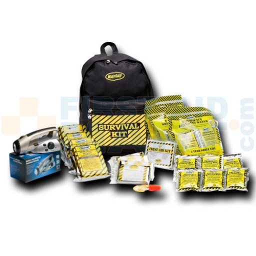 Economy Emergency Kit - 4 Person - Backpack - KEC4