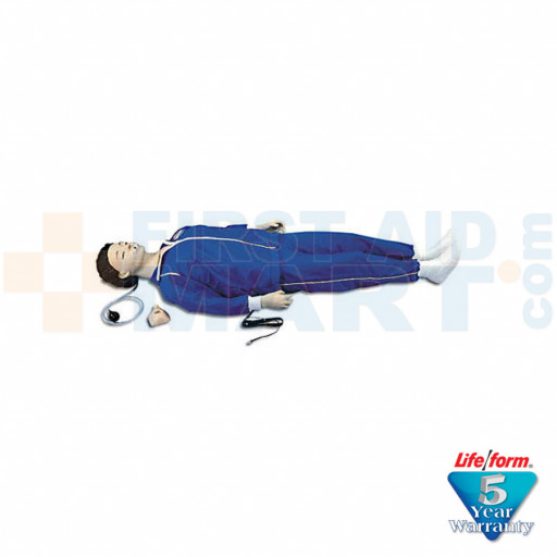 CPARLENE Full Manikin w/ Electronic Connections - White - LF03713U