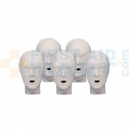 CPR Prompt 5-pack Adult/Child / Pediatric Heads - Tan - LF06155U