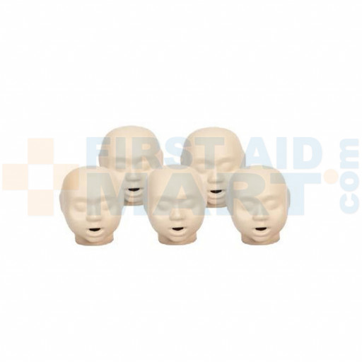 CPR Prompt 5-pack Infant / Baby Heads - Tan - LF06157U