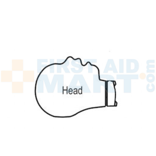 CPR Prompt Infant / Baby Head Assembly - Tan - LF06914U