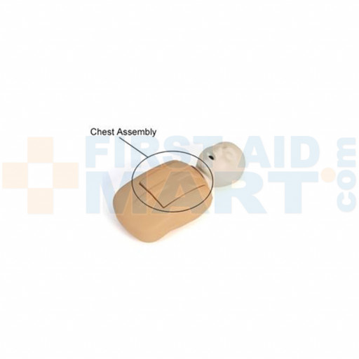 CPR Prompt Coated Infant / Baby Chest Assembly - Tan - LF06920U